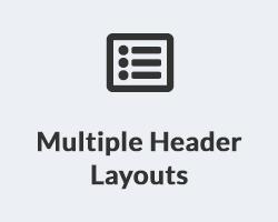 Multiple Header Layouts