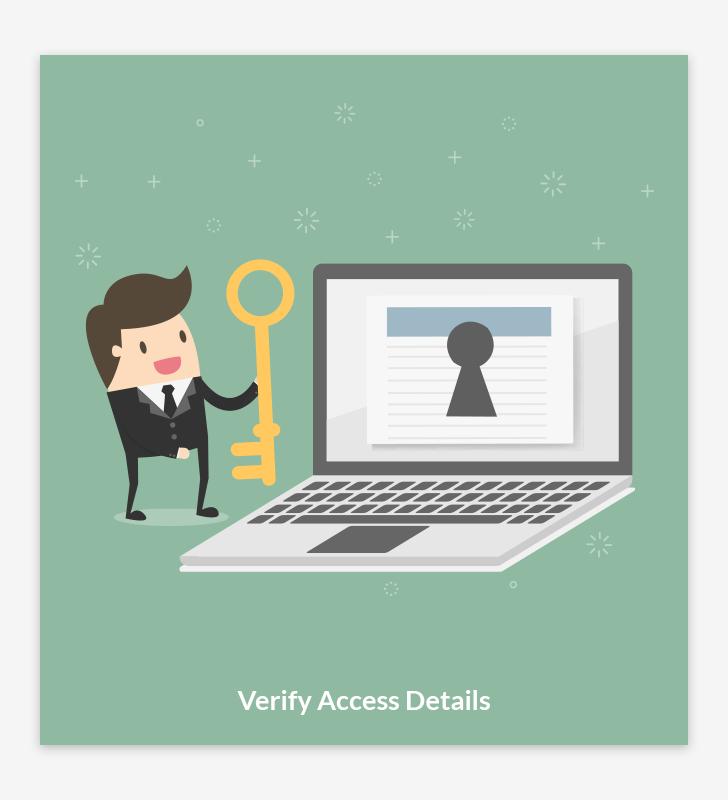 Verify Access Details
