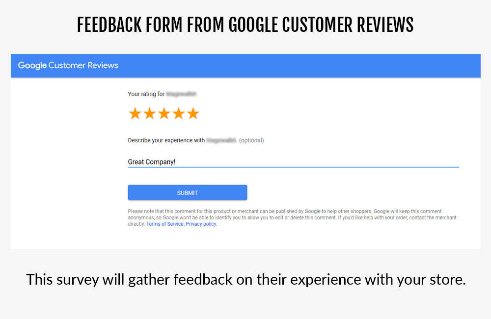 Google Customer Reviews Magento 2