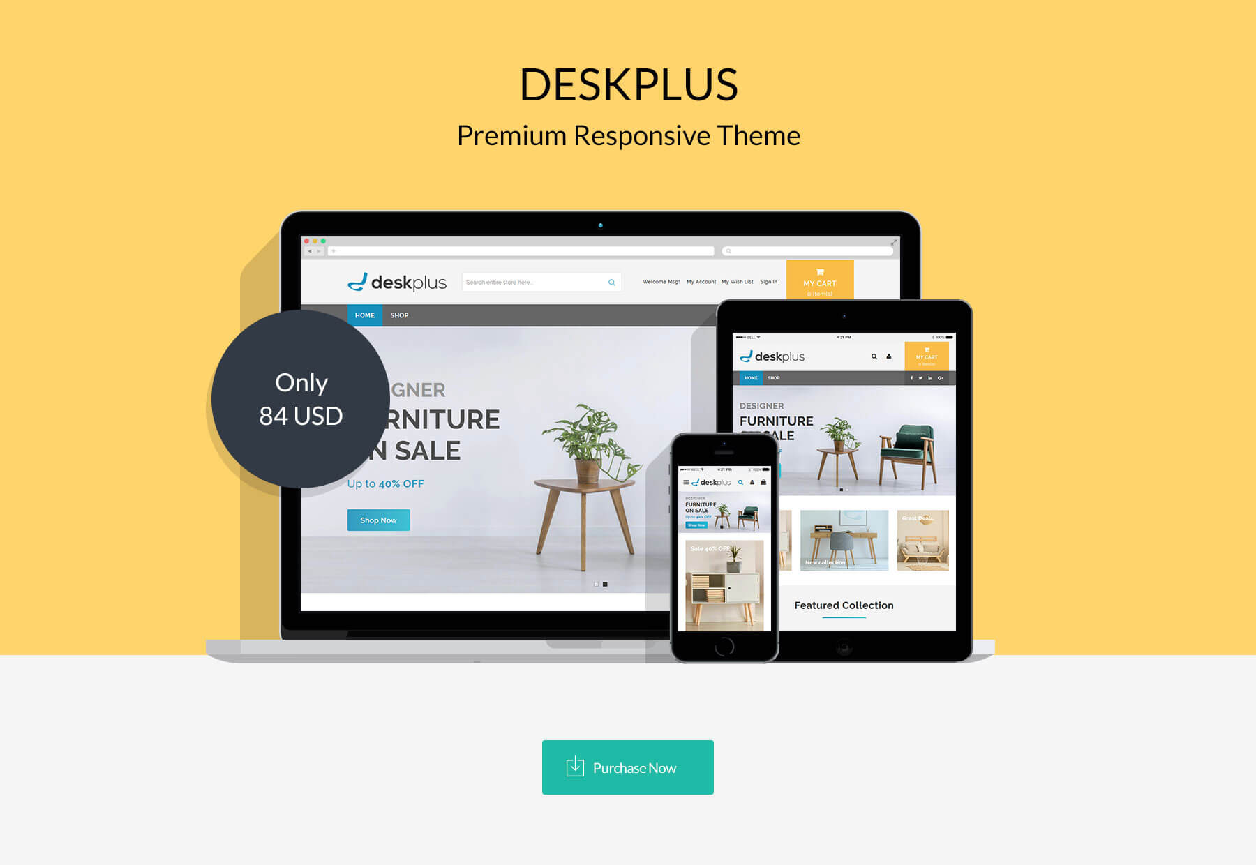 DeskPlus - Responsive Magento 2 Theme