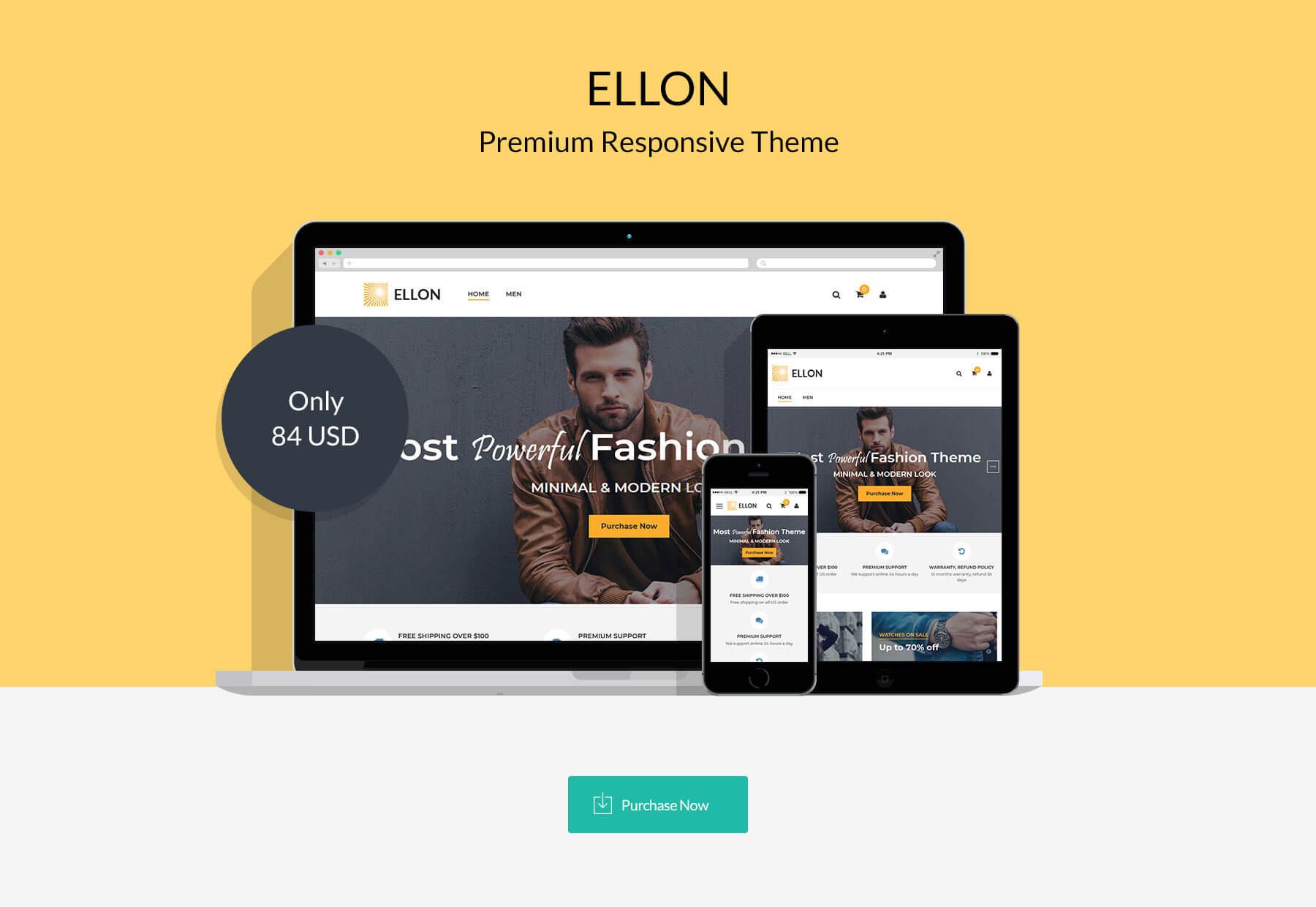 Ellon - Responsive Magento 2 Theme
