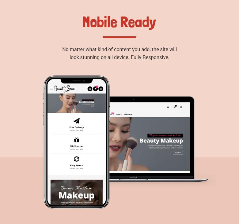 Mobile Ready Magento 2 Theme
