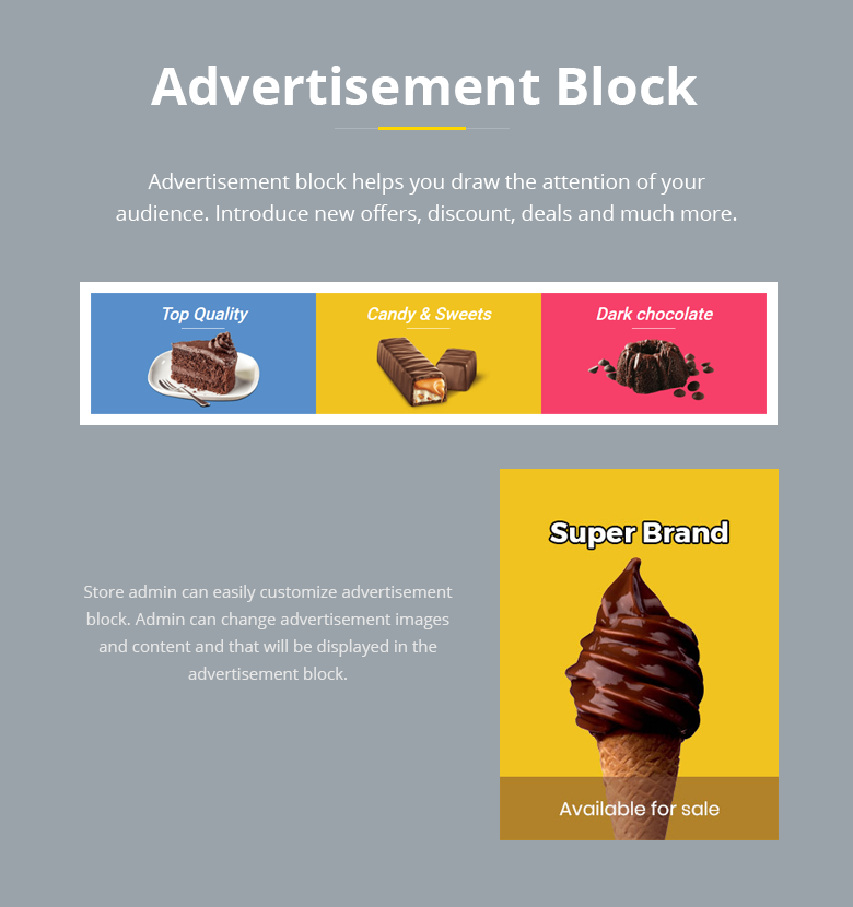 Advertisement Block Magento 2 Theme