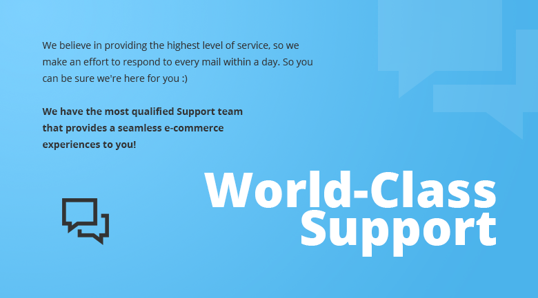 World Class Support Magento 2 Theme