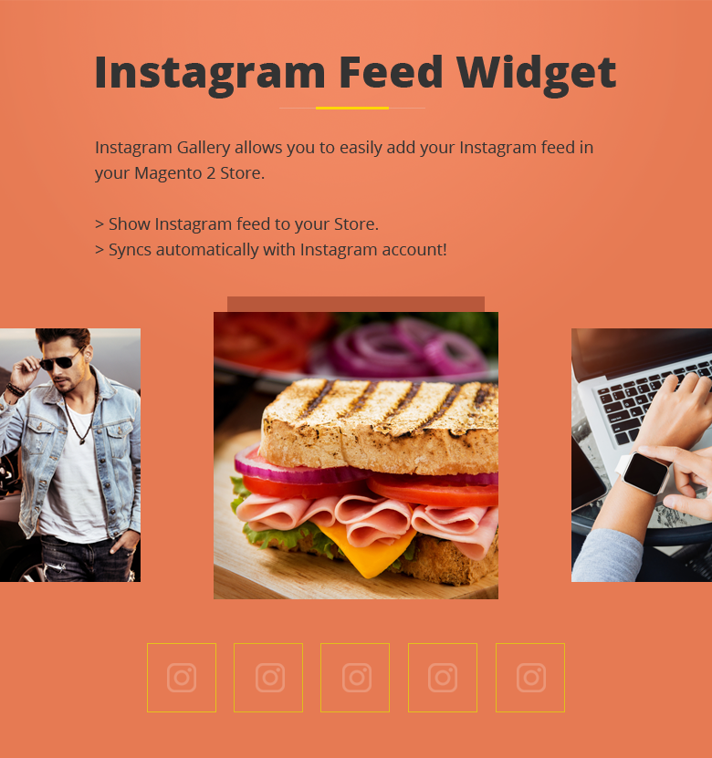 Instagram Feed Magento 2 Theme