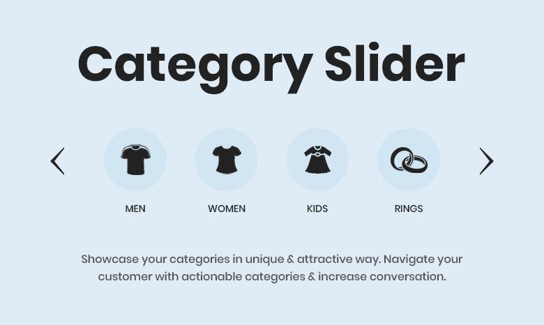Category Slider Magento 2 Theme