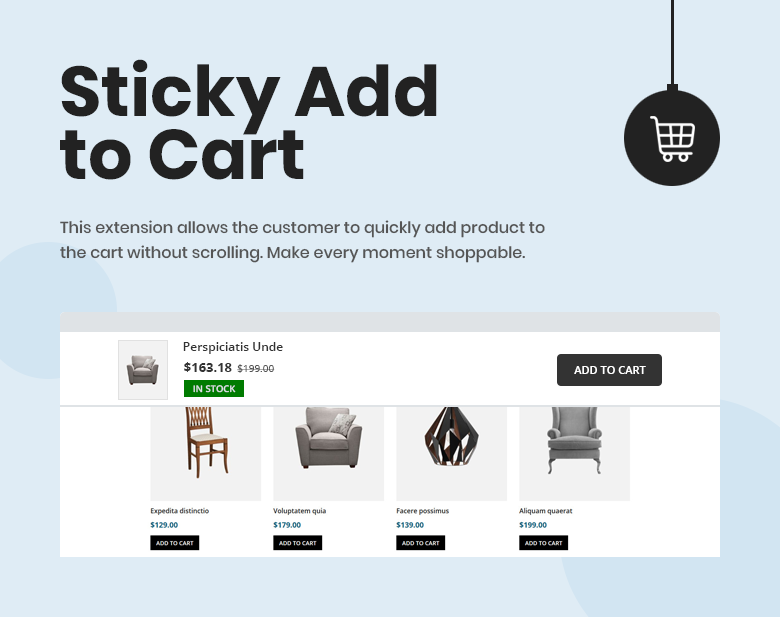 Sticky Add to Cart Magento 2 Theme