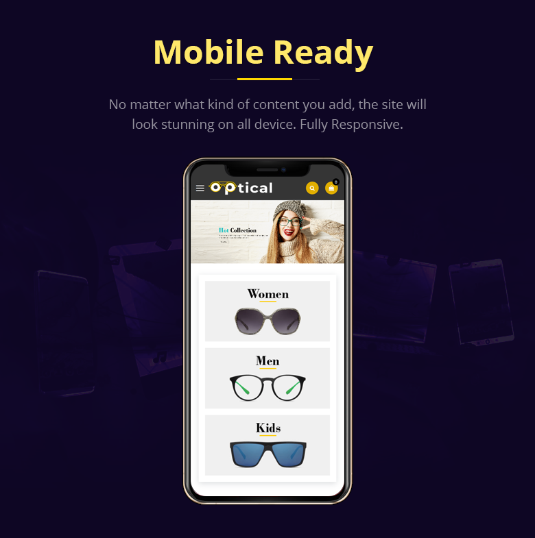 Mobile Ready Magento 2 Theme