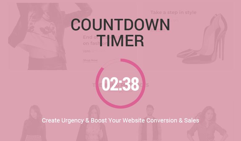 Countdown Timer Magento 2 Theme