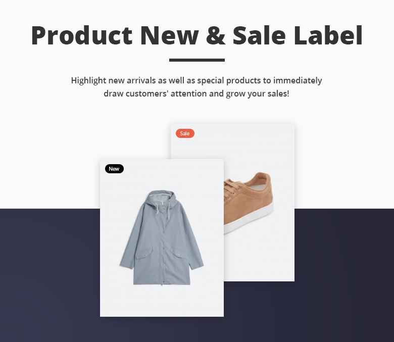 Product Label Free Magento 2 Theme