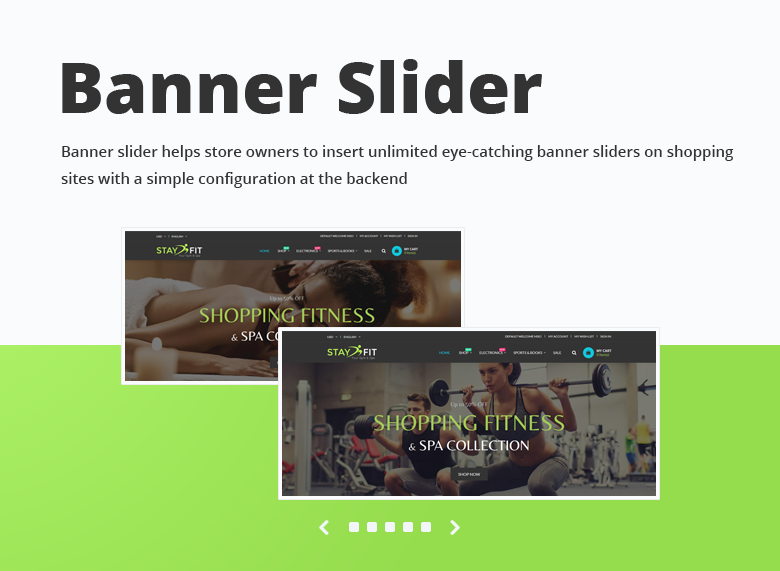 Banner Slider Magento 2 Theme