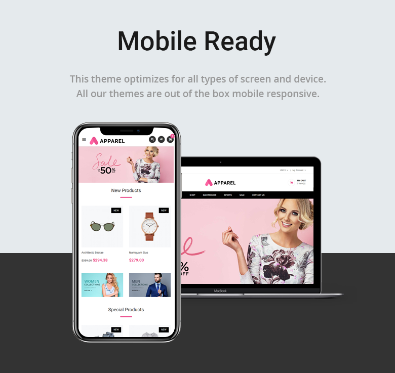 Mobile Ready Free PrestaShop Theme