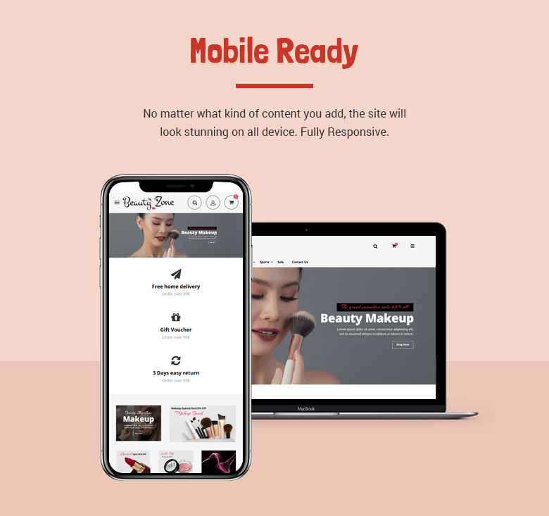 Fashion Beauty Zone: Fashion Responsive Prestashop Theme