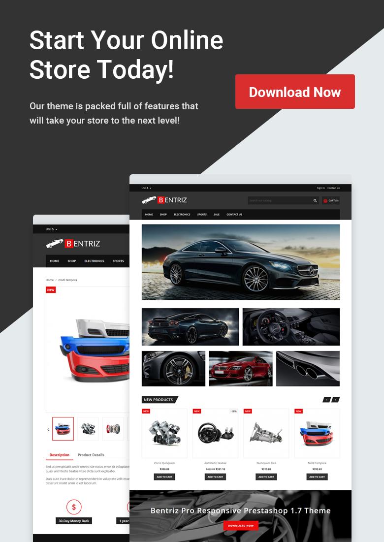 Download Free PrestaShop Theme