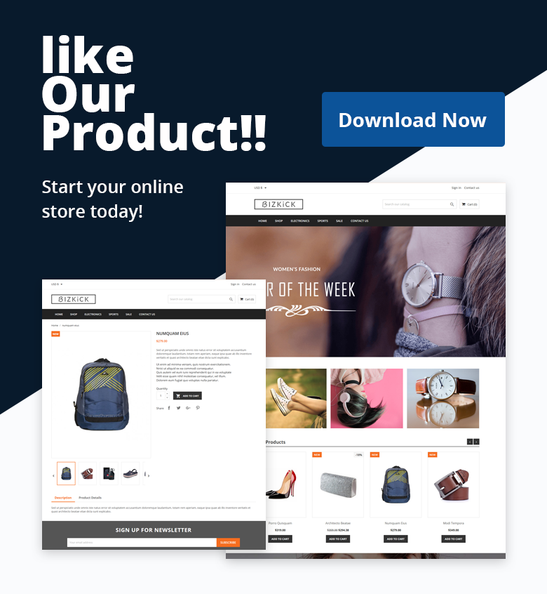 Download Free PrestaShop Theme