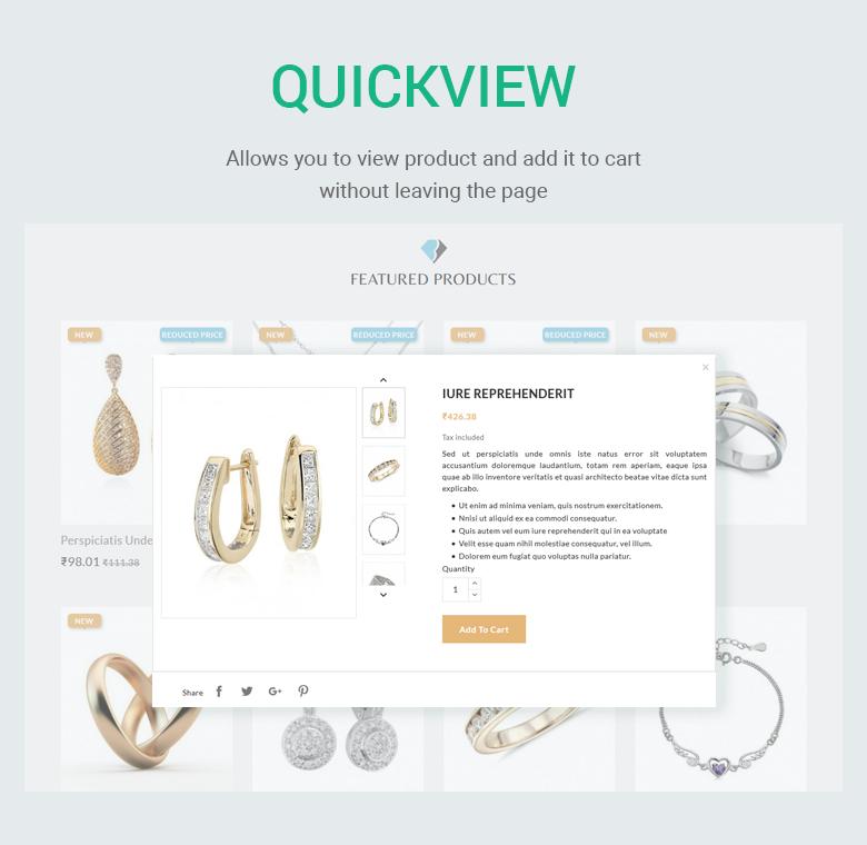 Quickview PrestaShop Theme