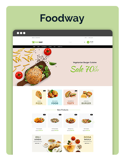 Carat Foodway Layout