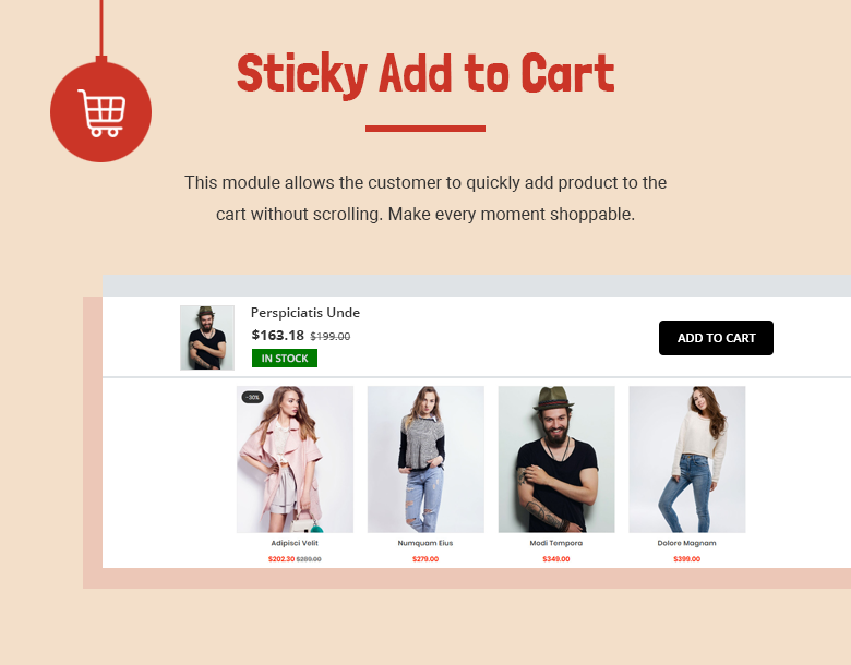 Sticky Add to Cart PrestaShop Theme