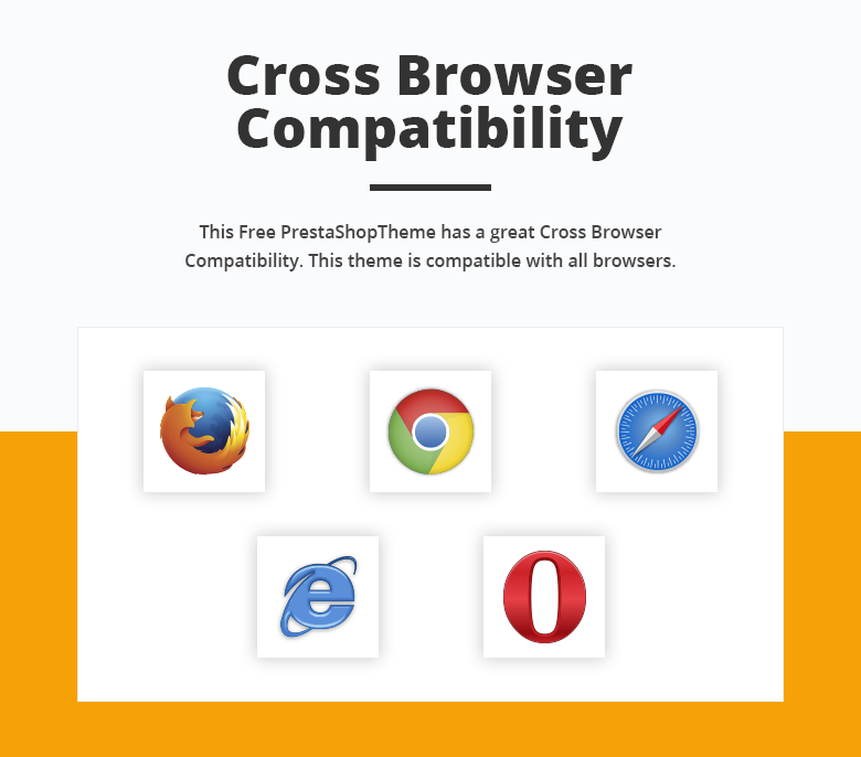 Cross Browser Compatibility Free PrestaShop Theme