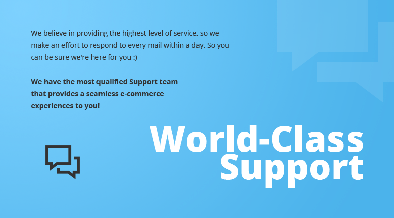 World Class Support PrestaShop Theme
