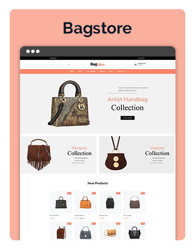Cushion Bagstore Layout