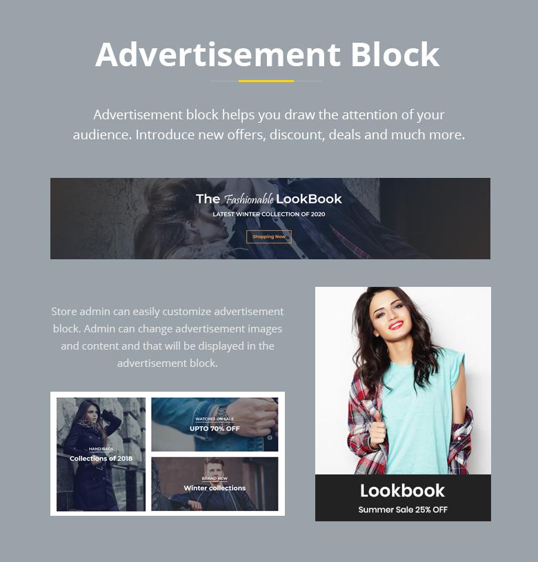 Advertisement Block PrestaShop Theme