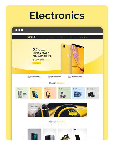 Etrend Electronics Layout