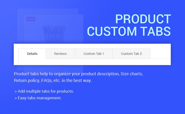Product Custom Tabs PrestaShop Theme