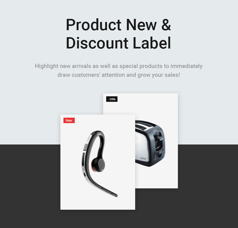 Product Label Free PrestaShop Theme