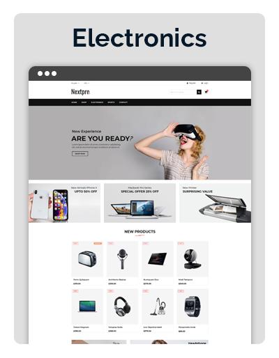 Nextpro Electronics Layout