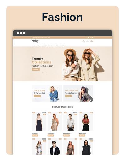 Nextpro Fashion Layout