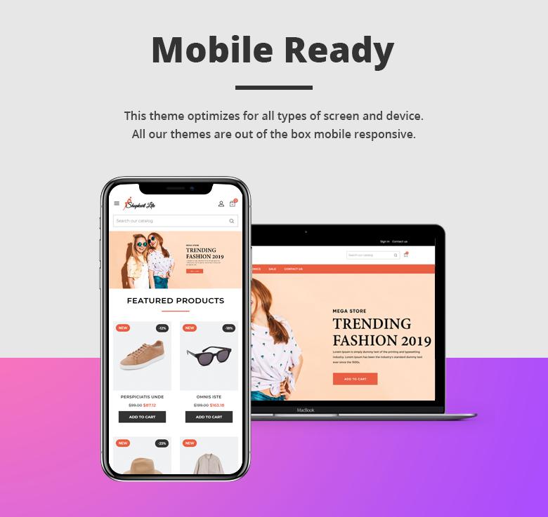 Mobile Ready Free PrestaShop Theme