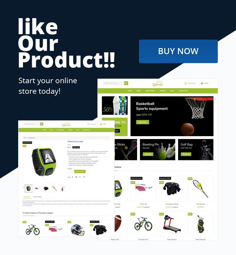 Buy PrestaShop Theme