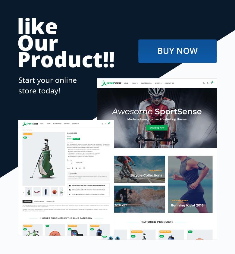 Buy PrestaShop Theme