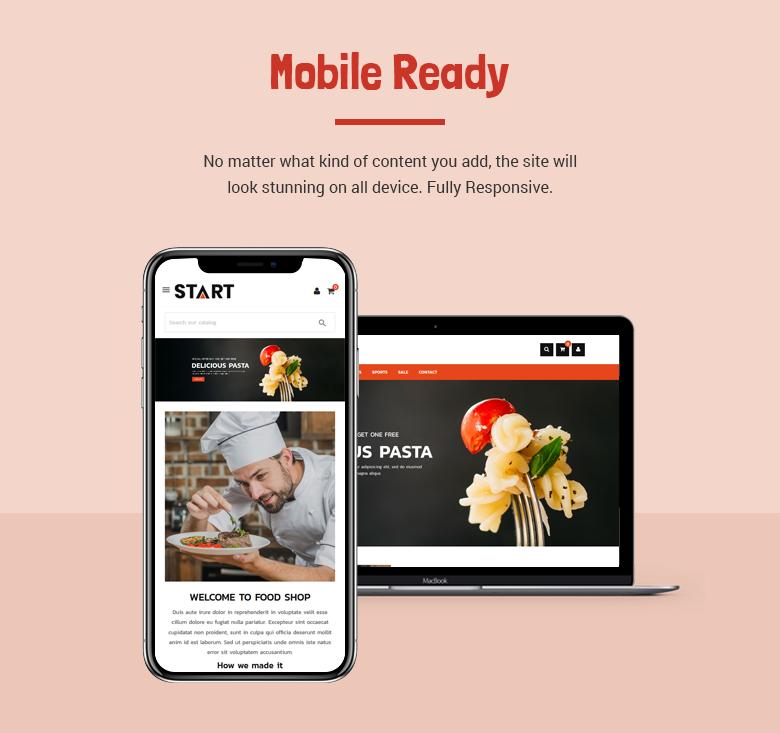 Mobile Ready PrestaShop Theme